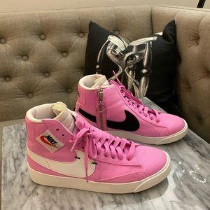 The Nike Blazer Rebel Mid in Psychic Pink